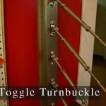 toggle turnbuckle cable rail fitting