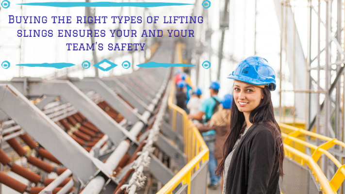 types of lifting slings